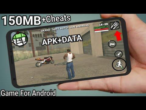 GTA SAN ANDREAS LITE 150MB ALL GPU! With Cleo Mod (APK+DATA
