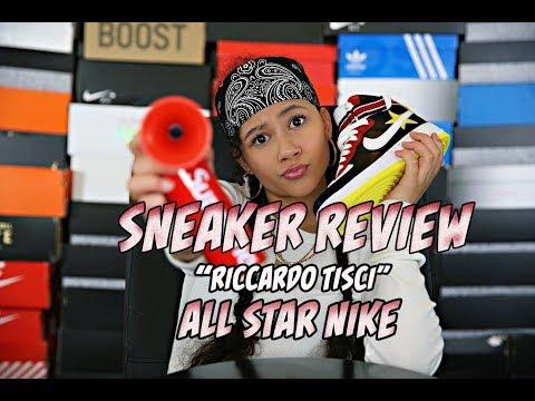 """BABY KAELY """"Sneaker review"""" Riccardo Tisci Nike All-stars"""