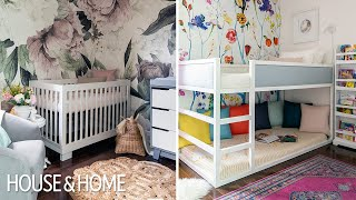 Room Tour: Two Pretty & Practical Little Girls' Bedrooms