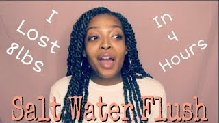 I lost 8lbs in 4 HOURS | Salt Water Cleanse