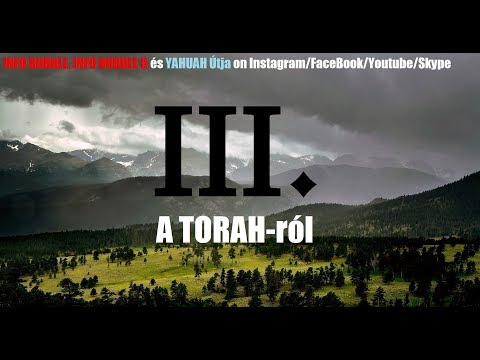 HANGFELVÉTEL A Torahról 20180825 letöltés