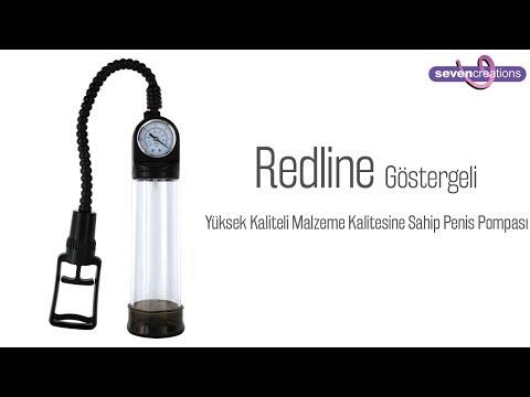 Redline Basınç Göstergeli Penis Pompası