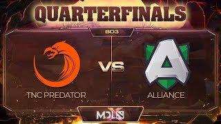 TNC Predator vs Alliance Game 2 - MDL Chengdu Major: Quarterfinals