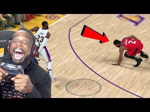 LEBRON BROKE KAWHI'S ANKLES! Lakers vs Raptors NBA 2K19 MyCareer Ep 100!