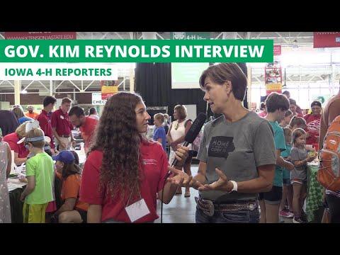 Iowa 4-H Reporters 2019 - Governor Kim Reynolds Interview