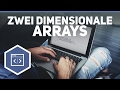 Download Youtube: Zweidimensionale Arrays - Java Tutorial 11