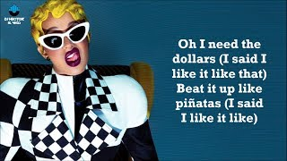Cardi B, Bad Bunny & J Balvin - I Like It (Letra/Lyrics)