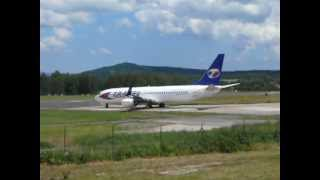 preview picture of video 'Odlet Boeingu Travel Service do Antalye 6.7.2012'