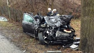 preview picture of video 'Schwerer Unfall auf B299 bei Winhöring'