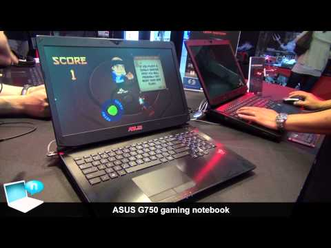 ASUS G750 with Nvidia GeForce 770M/780M and Leap Motion