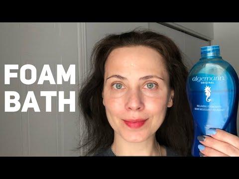 Foam bath Algemarin original. Product review.