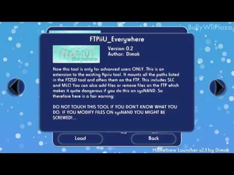 [Wii U] FTPiiu everywhere for Cold Boot Haxchi Fix Tutorial - BullyWiiPlaza