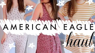 *massive* American Eagle Try-on Haul (& Some Aerie Too!)