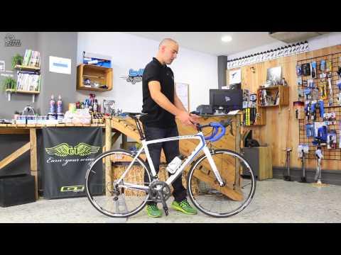 Bicicleta de carretera: configuración básica