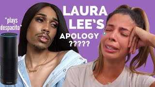 Let's talk | Laura Lee's apology, my casserole dish exploded in the oven