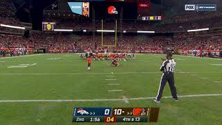 at least the Broncos can play defense