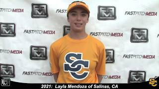 2021 Layla Mendoza Outfield and Middle Infield Softball Skills Video - Ca Suncats