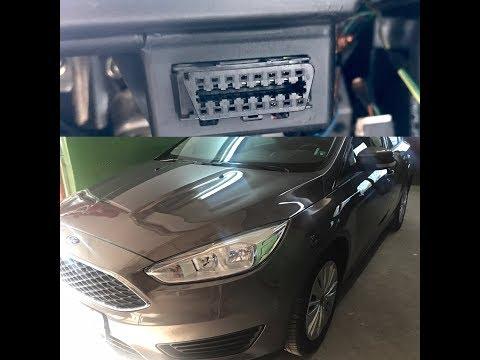 Ford Focus MK3 OBD2 port location (on-board diagnostics