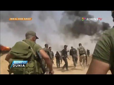 Pasukan Suriah Berhasil Menembus Pertahanan ISIS