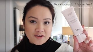 The NEW Dior Dreamskin Advanced and Dreamskin 1-Minute Mask