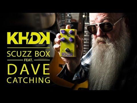 KHDK Scuzz Box Kytarový efekt