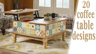 20 Coffee Table Designs For Living Room | Interior Decorating Ideas 2020