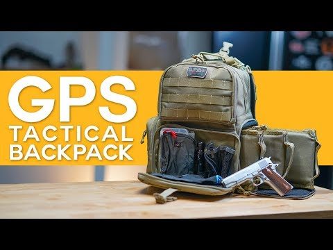 The Ultimate Shooting Range Backpack?! – GPS Tactical Backpack Review