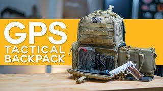 The Ultimate Shooting Range Backpack?! - GPS Tactical Backpack Review