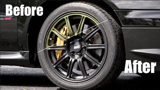 Matte Black Plasti Dip Wheels - Ultimate DIY Guide
