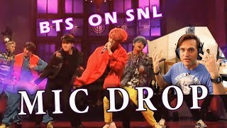 Guitarist Reacts To BTS - MIC DROP // SNL // Classical Musicians React To KPOP
