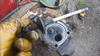 Ремонт ЦПГ трактора Т-25. (Часть 1)