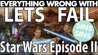"""Everything Wrong With """"Lets Fail - Star Wars Episode II: Attack Of The Clones W/ DominicTV"""""""