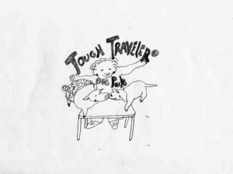 Tough Traveler Dog Packs Cartoon - Music by Kit G.