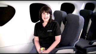 Installing a Rear-facing Diono Convertible Car Seat on an Airplane