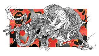 JAPANESE DRAGON TUTORIAL 3 | Step By Step Drawing