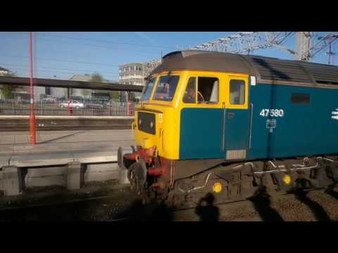 47270 'Swift' & 47580 'County of Essex' at Preston and Staff…