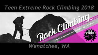 Teen Extreme Rock Climbing 2018