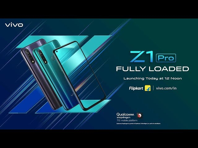 Vivo Z1 Pro With Hole-Punch Display Debuts in India, Price