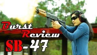 SB Tactical SB47 AK Pistol Brace Review  Burst Review  PAP M92 & Micro Draco