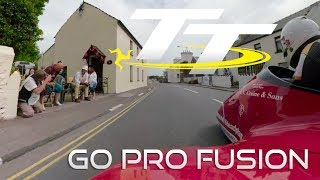 TT 2018   360 GoPro On Board with Michael Jackson and Harry Payne