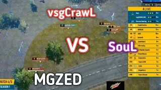 This Match Took Soul To Top 10 | SouL VS MGZeD VS vsgCrawL PMPL Match 4