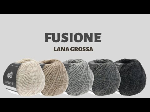 Обзор пряжи FUSIONE от Lana Grossa