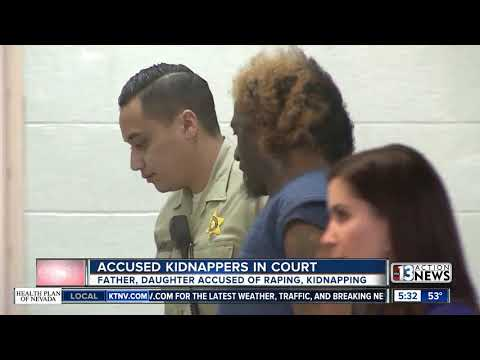 Father, daughter in California court