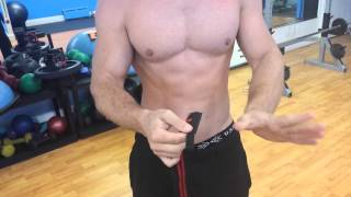 Wrist Wraps Tutorial | How To Put On Wrist Wraps | Weightlifting | Powerlifting