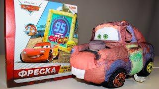 Мультики про машинки Учим цвета с Молния Маквин и Мэтр Мультик Тачки Видео для детей про Игрушки
