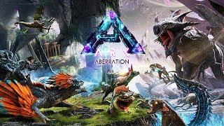 ARK: Survival Evolved - NEW DINOSAUR WORLD!! (ARK Aberration, Episode 1)