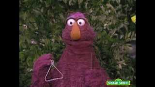 Sesame Street: Telly Plays the Triangle with Big Bird