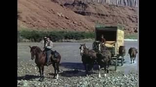 """Фильм-вестерн """"Осада на Красной реке"""",1954 год."""