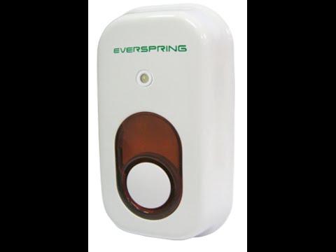 Everspring Z-Wave Siren SE812 (OBS sänk ljudet innan du visar filmen!)
