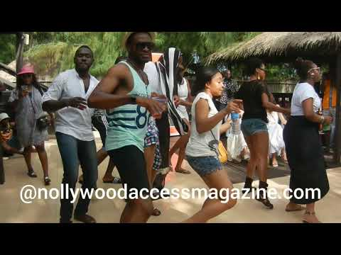 Throw back of OC Ukeje & other Nollywood Actors dancing